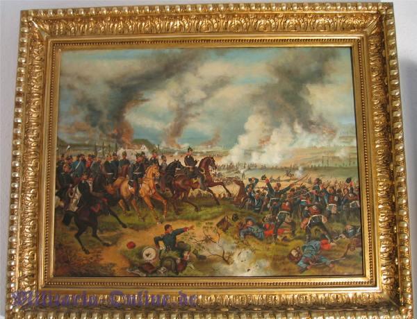 Ölgemälde Krieg 1870-71