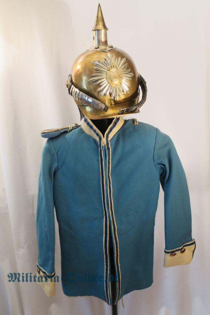 Sachsen Kinder Uniform und Helm