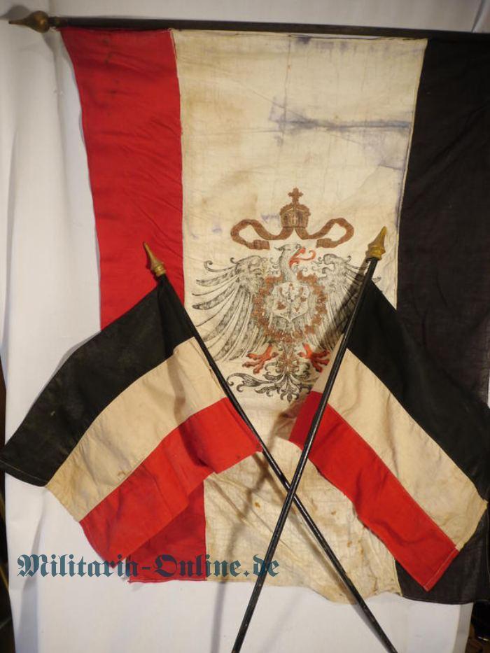 Deutsches Reich 3 Kolonialfahnen