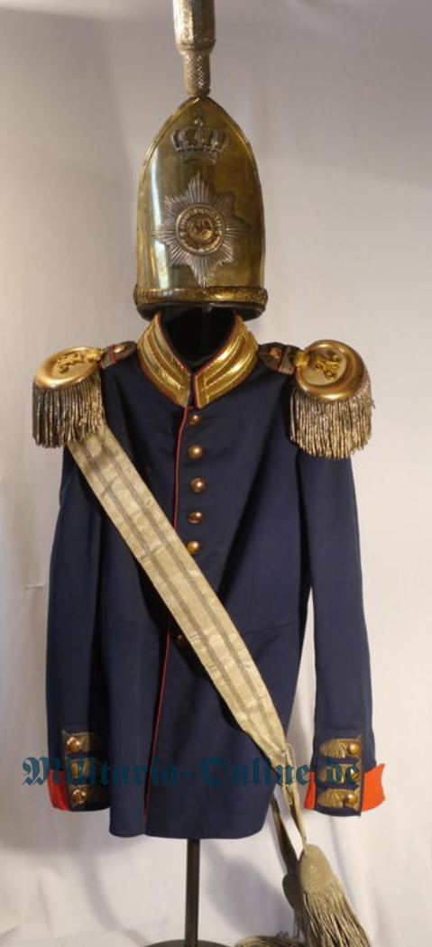 Preussen   Adjutanten Uniform
