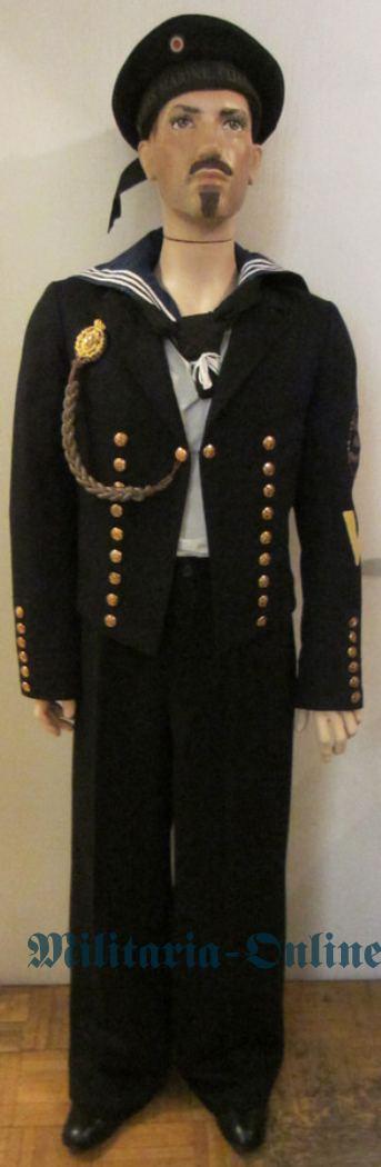 Kaiserliche Marine Jacke und Mütze