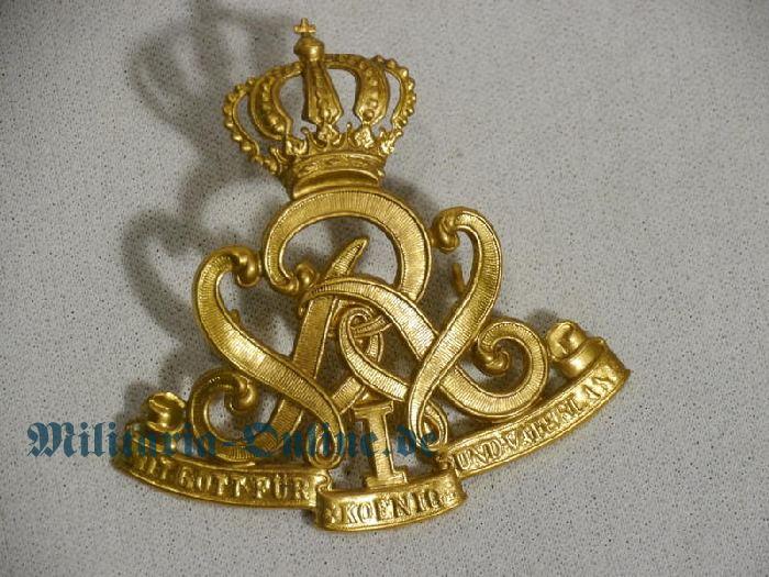 Preussen Mann. Husaren emblem