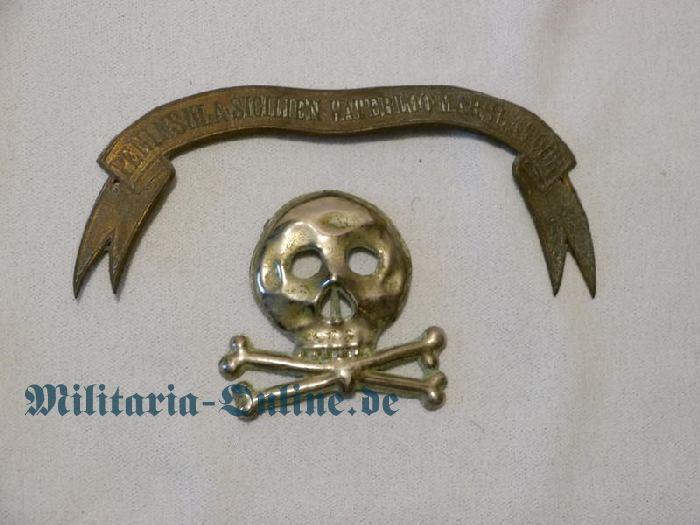 Braunschweig Mann. Husaren emblem