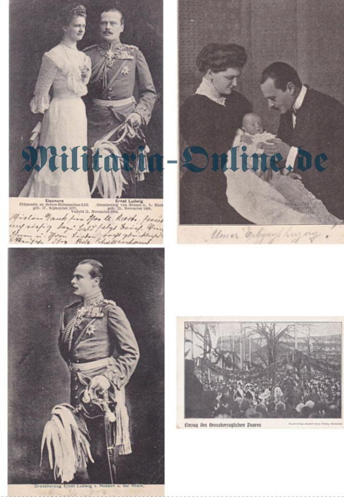 Hessen 4 postkarten