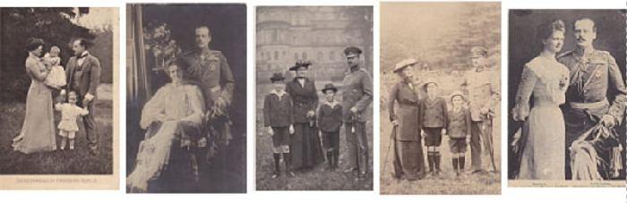 Hessen Grossherzog  5 postkarten
