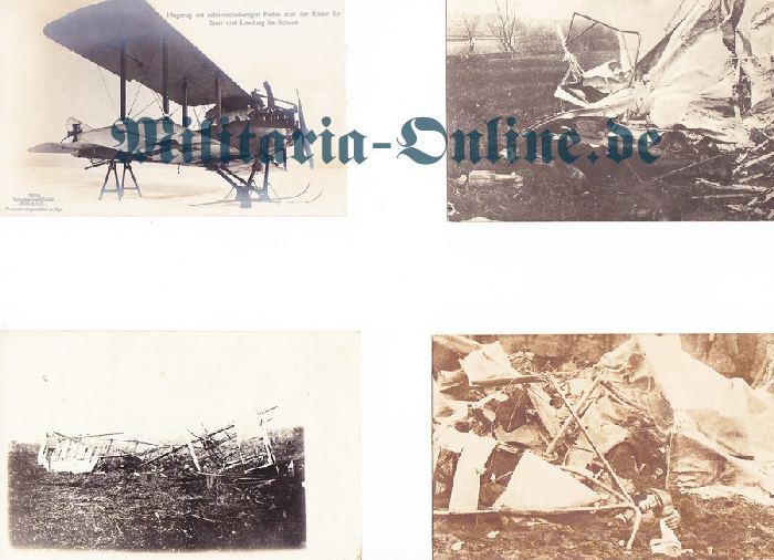 Flieger 4 Postkarten