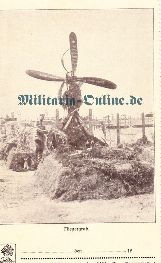 Flieger Postkarte