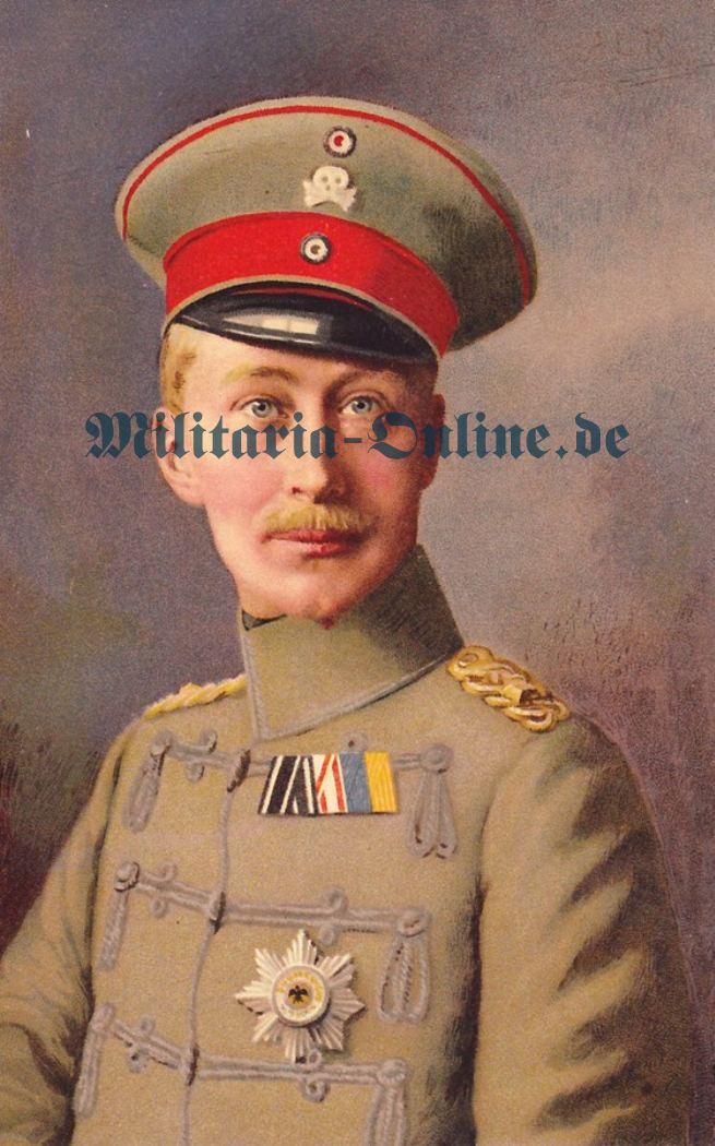 Postkarte Kronprinz