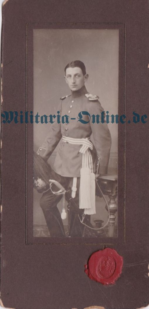 Württemberg Karton Foto Inf.