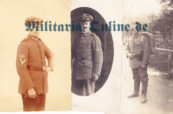 3 Postkarten M.G.