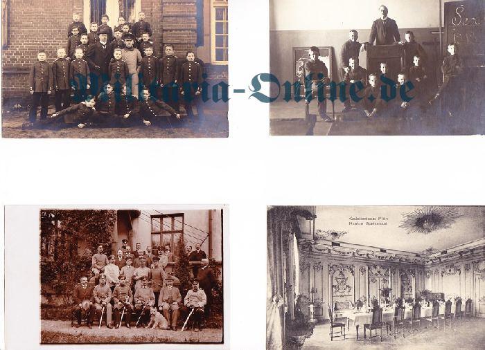 4 Postkarten Kadettenschule