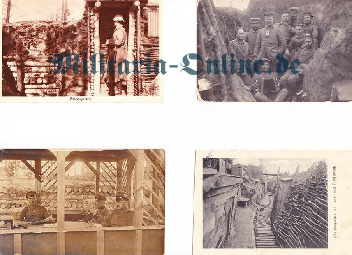 4 Postkarten I WK