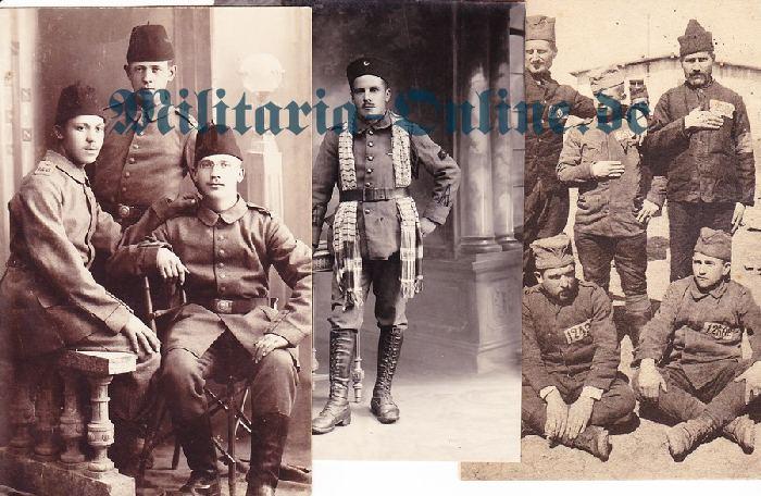 3 Postkarten I WK