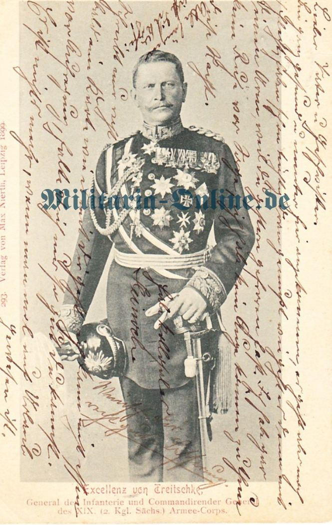 Postkarte Sachsen general