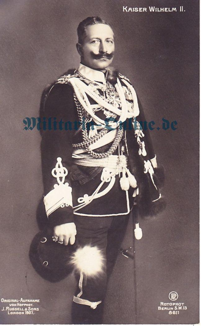 Postkarte Kaiser Wilhelm II
