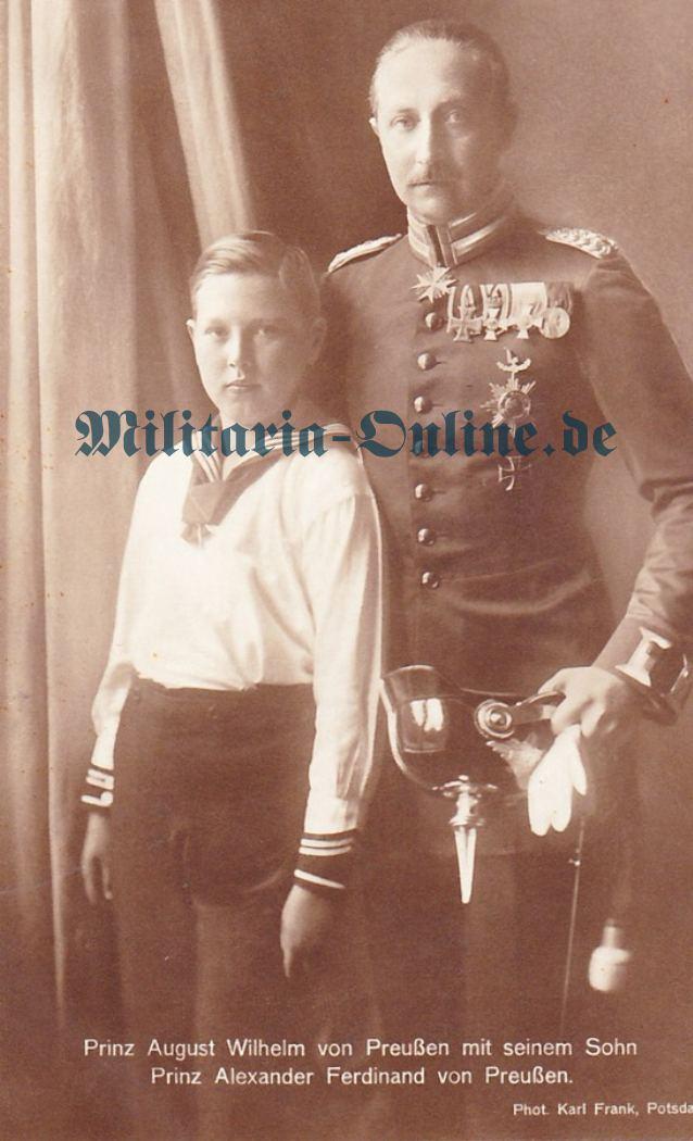 Postkarte 1. Garde Regt. zu Fuss