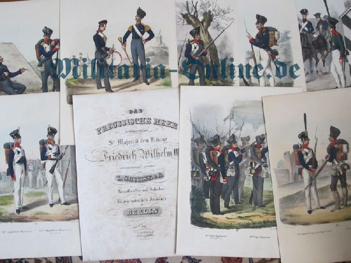 11 lithografien