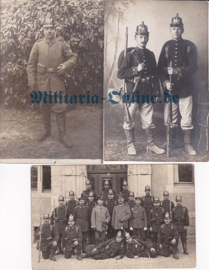 Preussen 3 Postkarten jäger