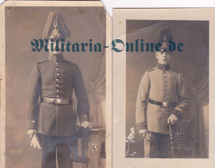 Preussen 2 Postkarten jäger