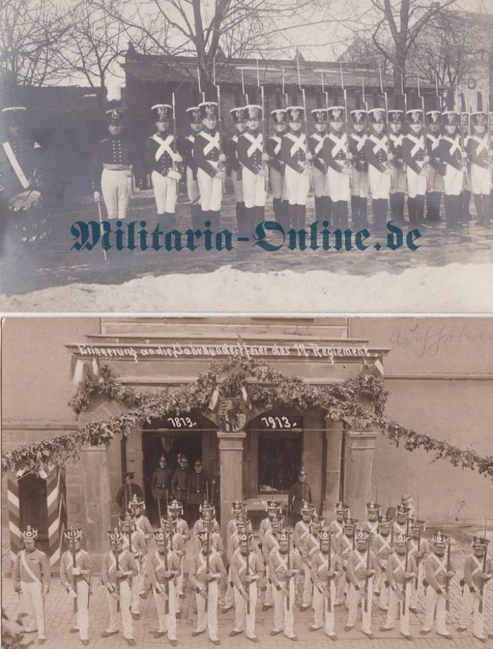Postkarten Centenar Uniformen
