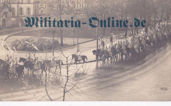 Preussen Ulanen Postkarte