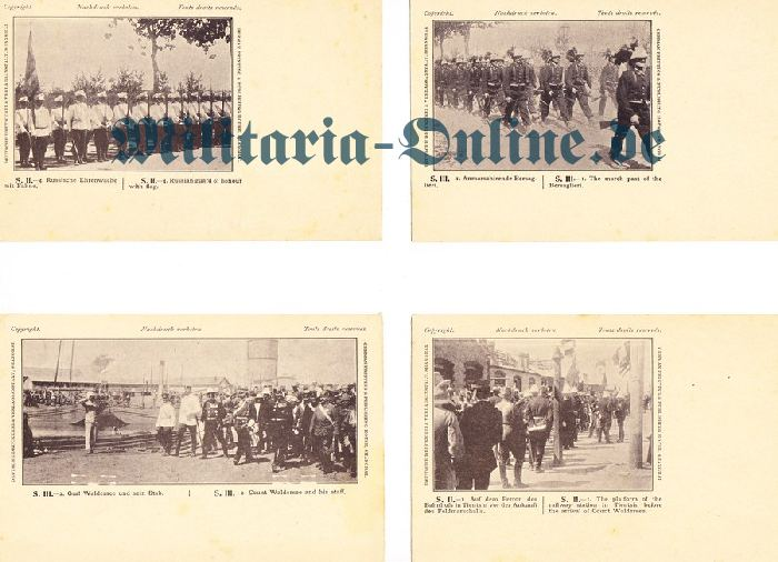 Deutsches Reich 4 Postkarten