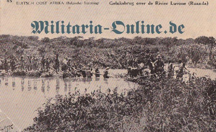 Deutsche Kolonie Postkarte