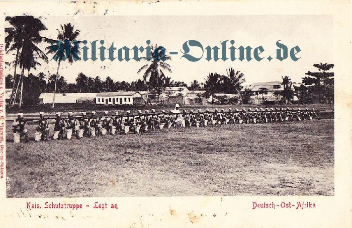Deutsches Reich D.O.A. Postkarte