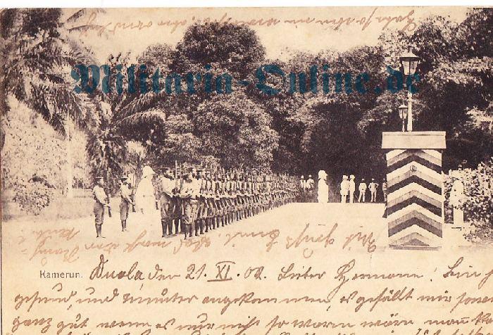 Deutsches Reich Kamerun Postkarte