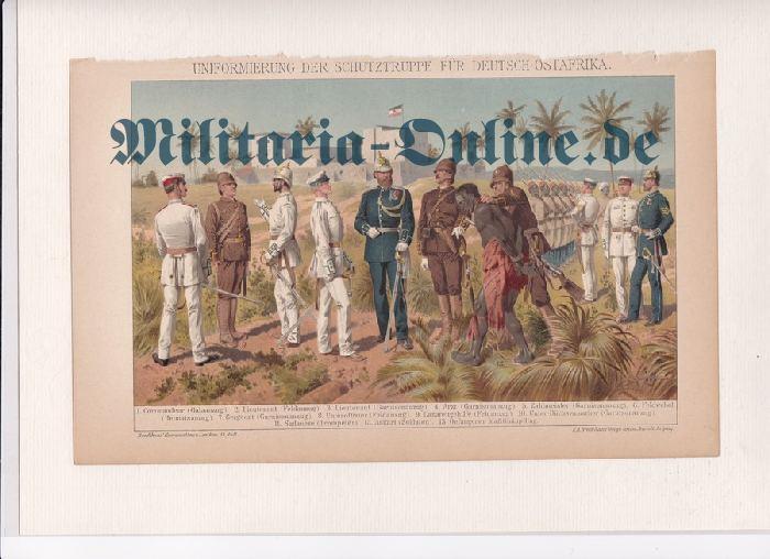 Deutsches Reich farbiges Blatt