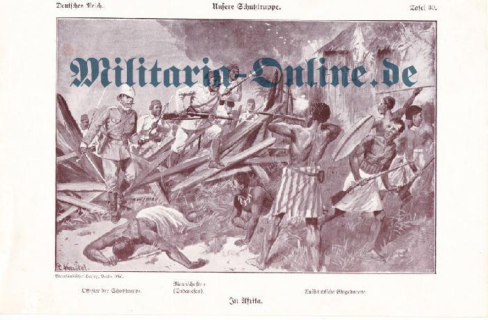 Deutsches Reich Lithographie