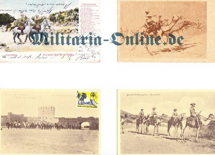 Deutsches Reich DSWA 4 Postkarten