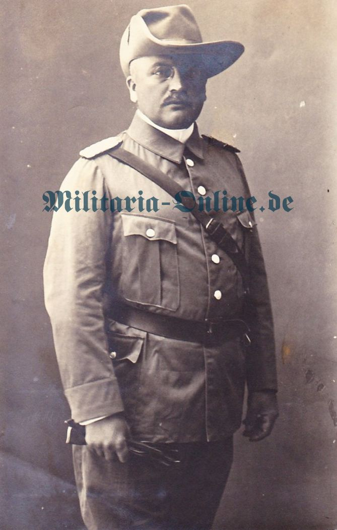 Deutsches Reich DSWA Foto-Postkarte