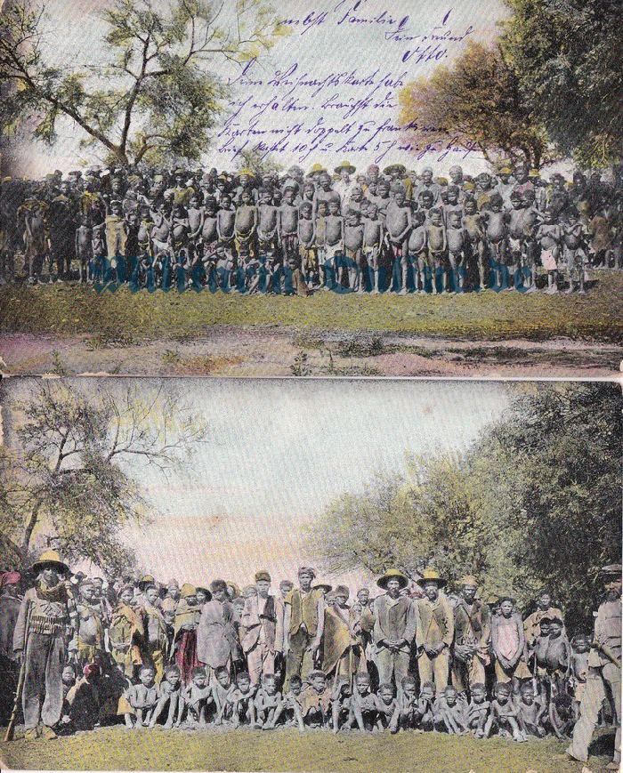 Deutsches Reich DSWA 2 Postkarten