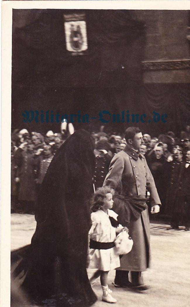 Österrich Kaiser Karl Postkarte