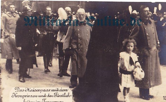 Österrich Postkarte Kaiser Karl