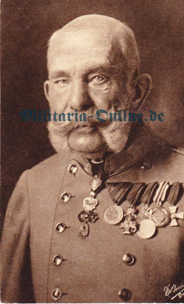 Österreich Postkarte Kaiser