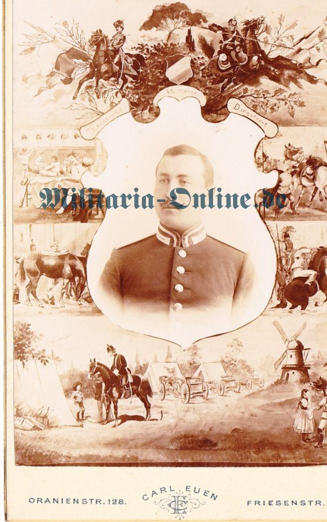 Preussen Kartonfoto