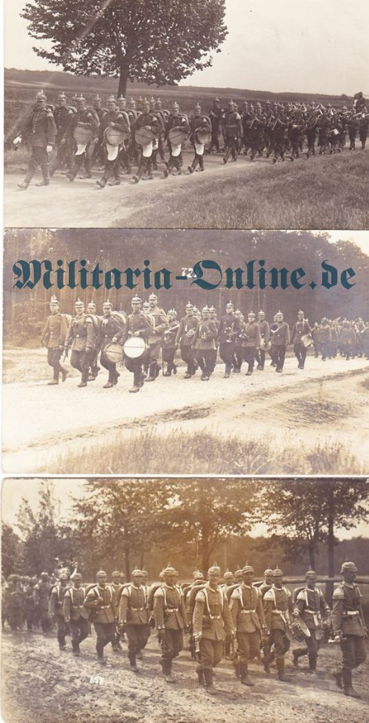Postkarte 3x Musiker