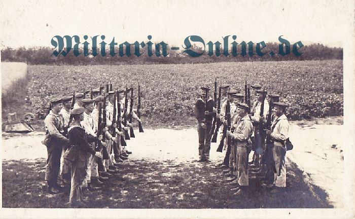 Postkarte marine