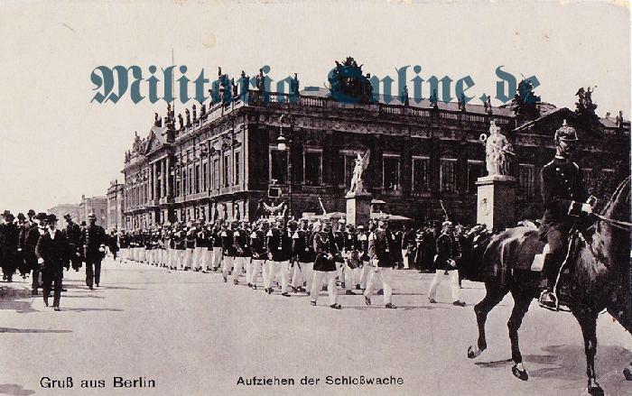 Preussen Postkarte musiker