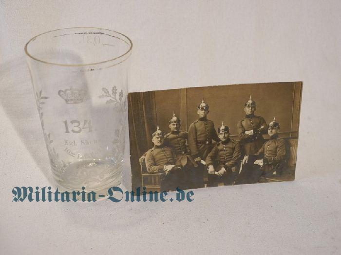 Sachsen Reservistenglas und Foto