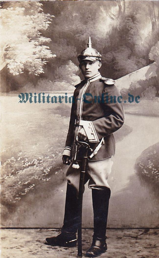 Sachsen Garde Reiter Postkarte