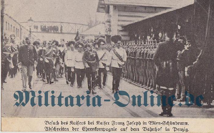 Österreich Kaiser FJ Postkarte