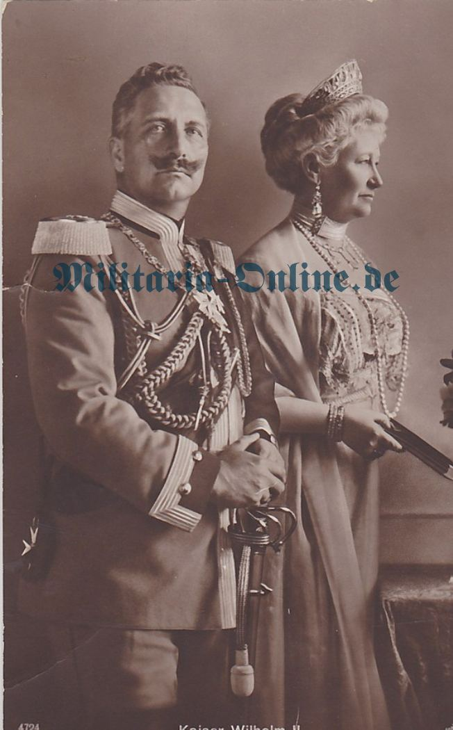 Preussen Postkarte Kaiser Wilhelm II