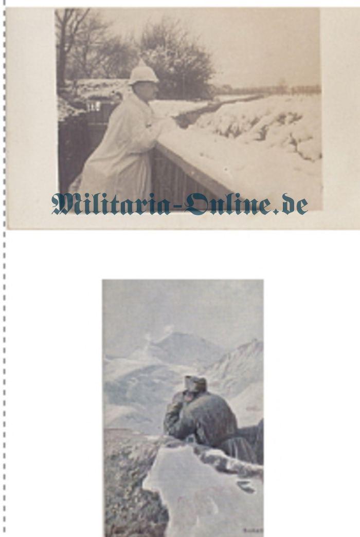 2 Postkarten I WK