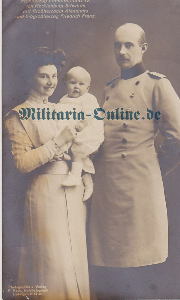 Mecklenburg Postkarte