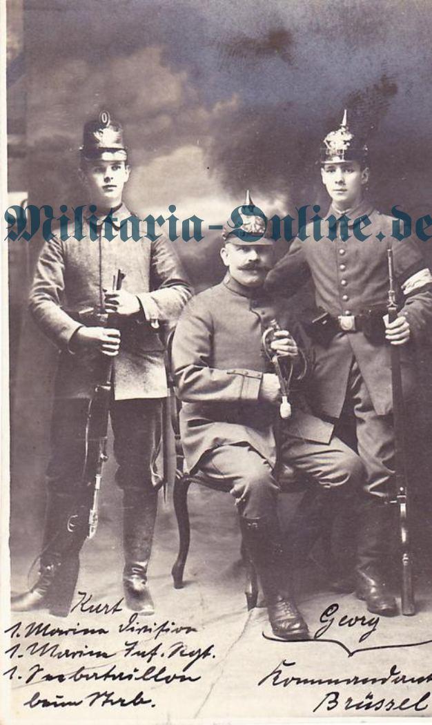Postkarte marine inf.