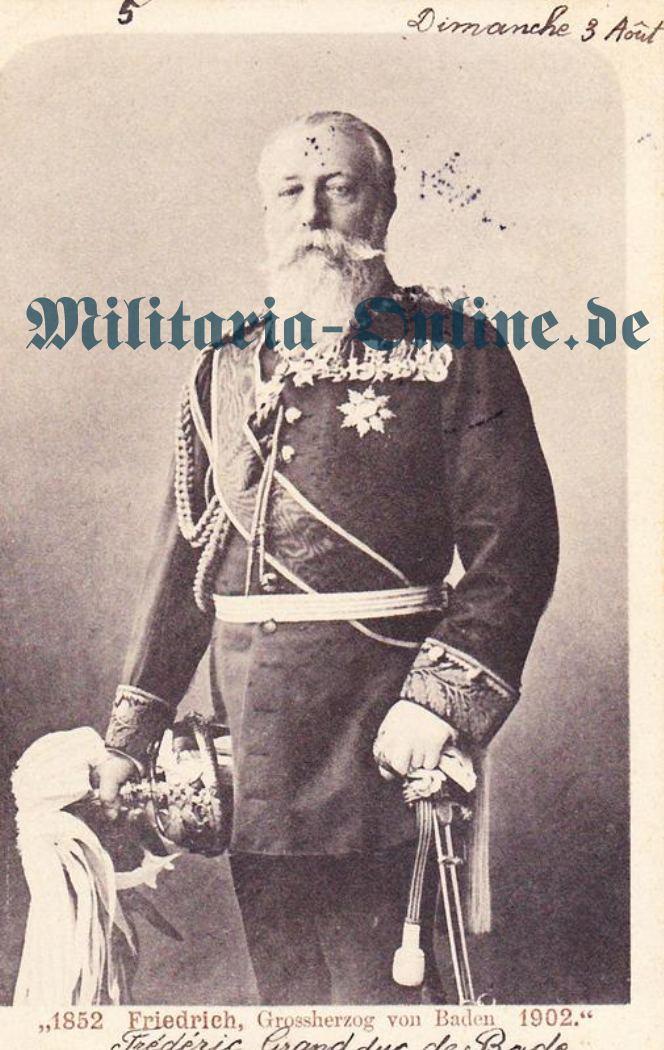Postkarte Baden