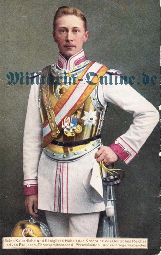 Postkarte Kürassier Regt. 2